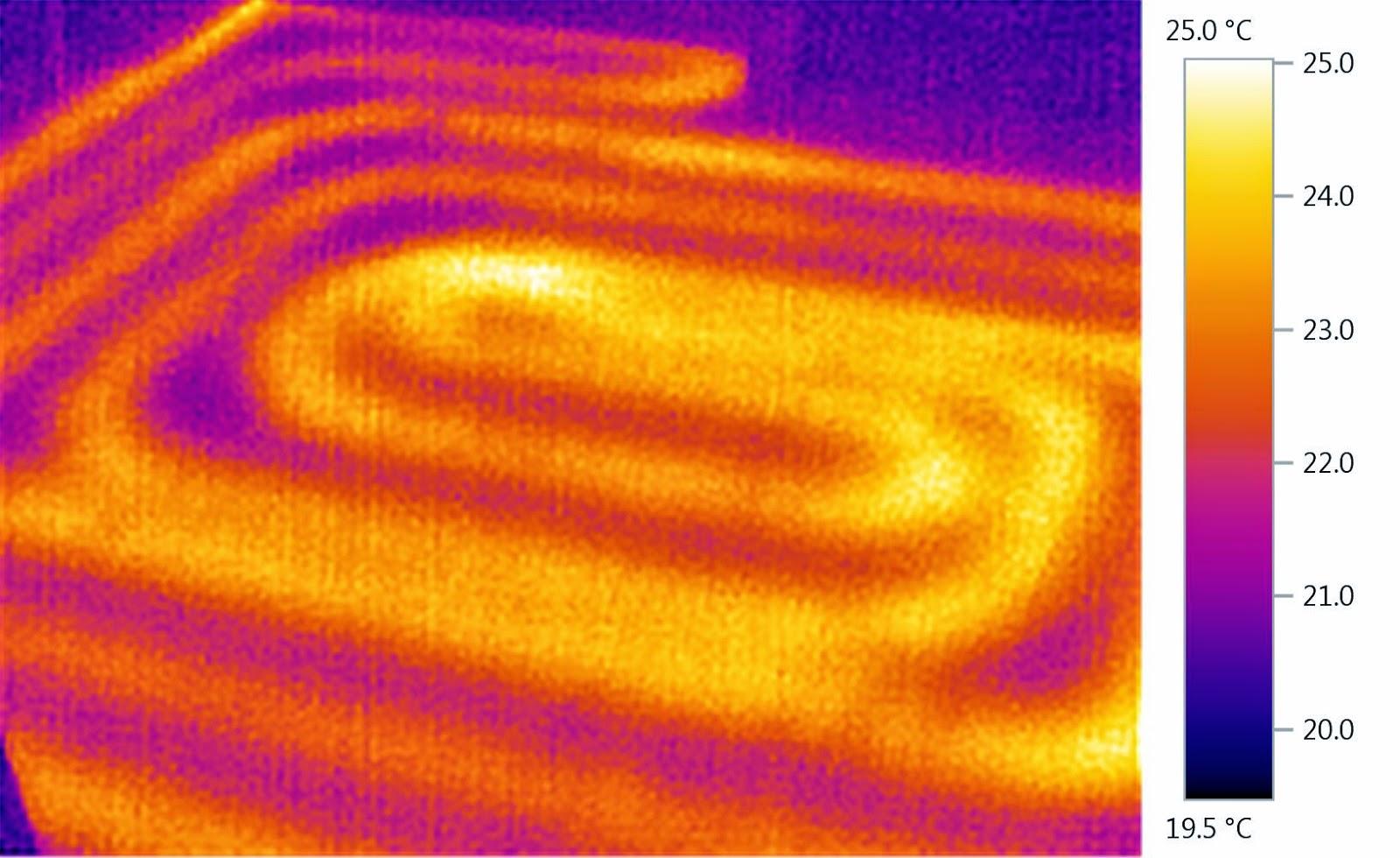 Temperatura sistemului de incalzire vazuta prin camera termica